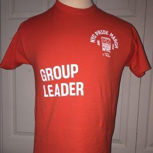 2019 World Pride March T-shirt GROUP LEADER Medium
